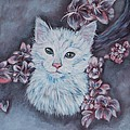 Elena Melnikova - White Cat