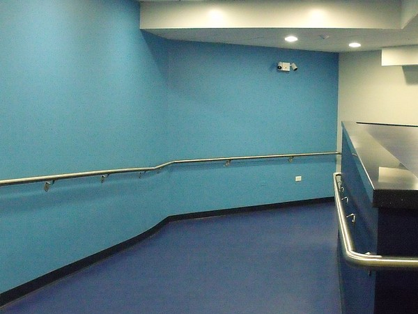 Blue Photograph - Blue Corridor by Anna Villarreal Garbis