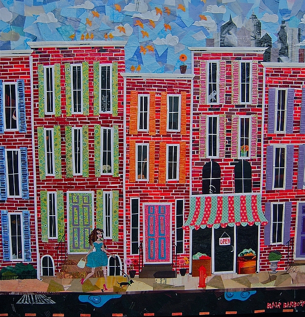 City Streets Print by Blair Barbour
