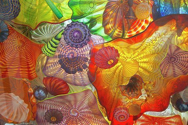 Glass Art.  Print by Gino Rigucci