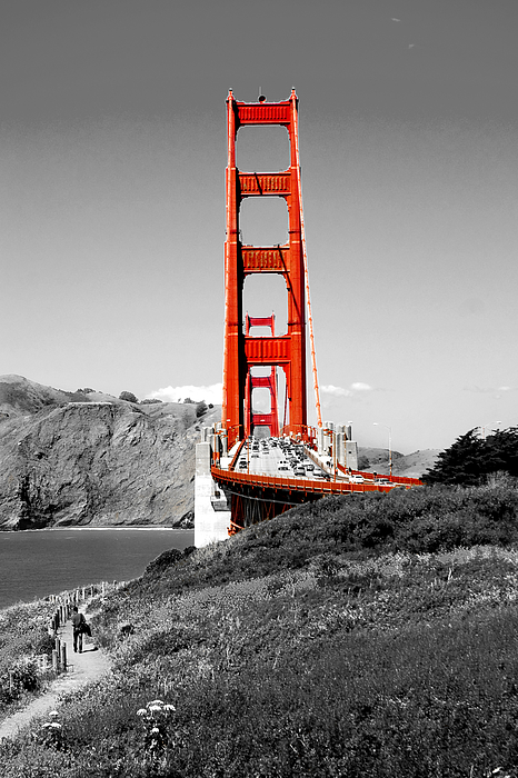 Golden Gate Print by Greg Fortier