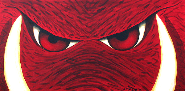 Hog Eyes 2 Painting