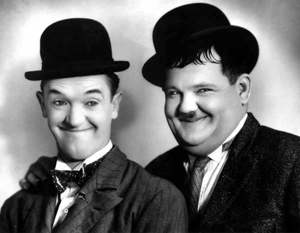 1920s Portraits Photograph - Laurel And Hardy by Everett