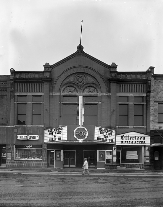 1980s Candid Photograph - Movie Theaters, The G.f. Andrae Opera by Everett