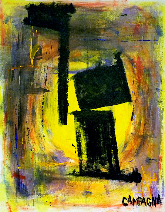 Nowhere To Hide Painting - Nowhere To Hide by Teddy Campagna