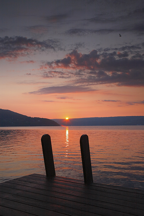 Sunrise Over Keuka V Photograph