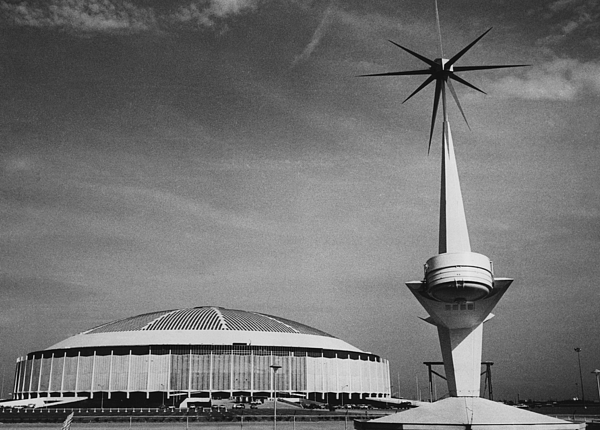 1960s Candids Photograph - The Astrodome Aka The Eighth Wonder by Everett