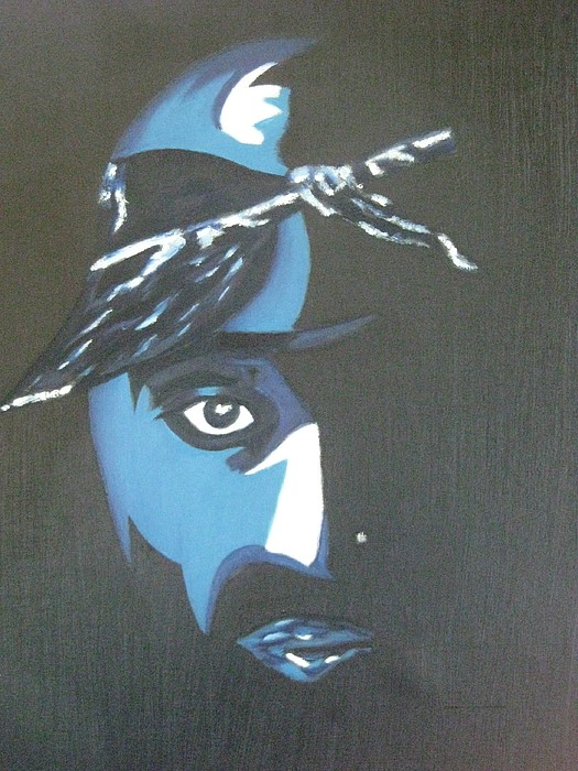 Tupac Painting - Tupac by James Dolan