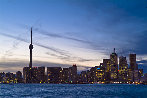 Architecture Photograph - View From Islands Of Skyline Toronto by Richard Nowitz