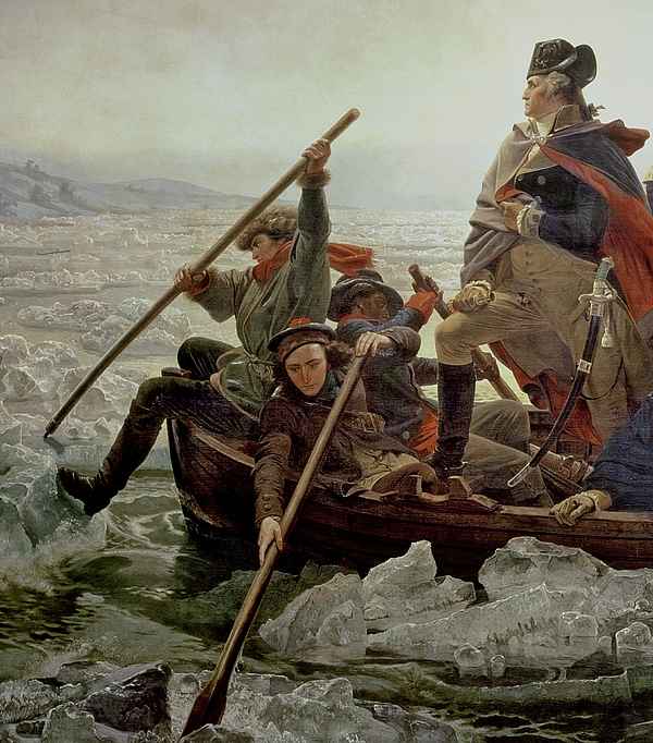 Washington Crossing The Delaware River Painting