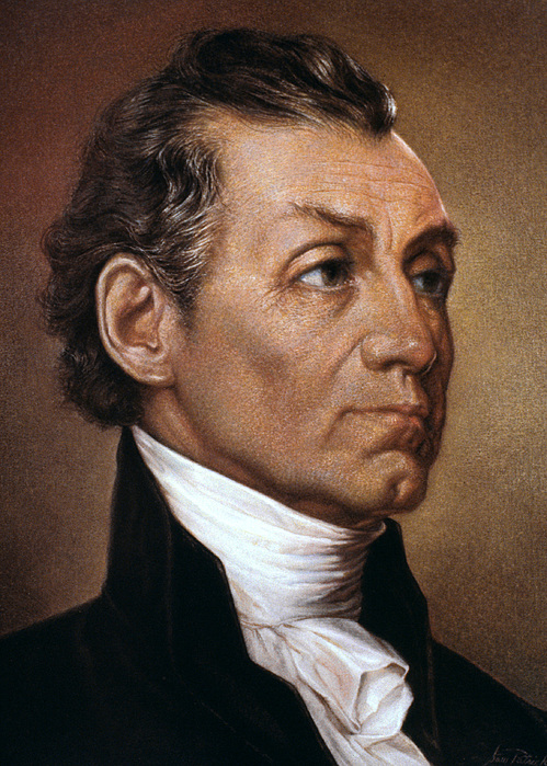 19th Century Photograph - James Monroe (1758-1831) by Granger