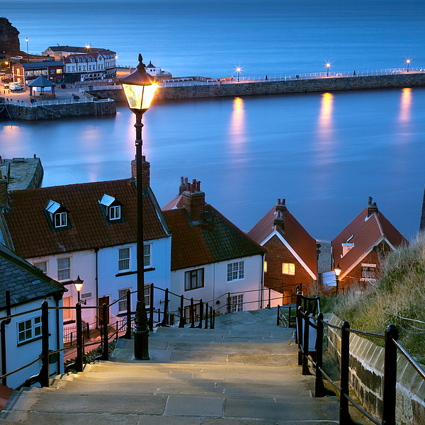 199 Steps Whitby Photograph