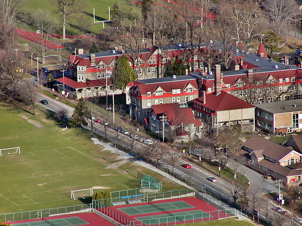 500 West Willow Grove Avenue Philadelphia Pa 19118 4198 Photograph - Chestnut Hill Academy 500 West Willow Grove Avenue Philadelphia Pa 19118 4198 by Duncan Pearson