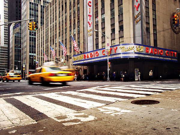 Nyc Radio City Music Hall Photograph