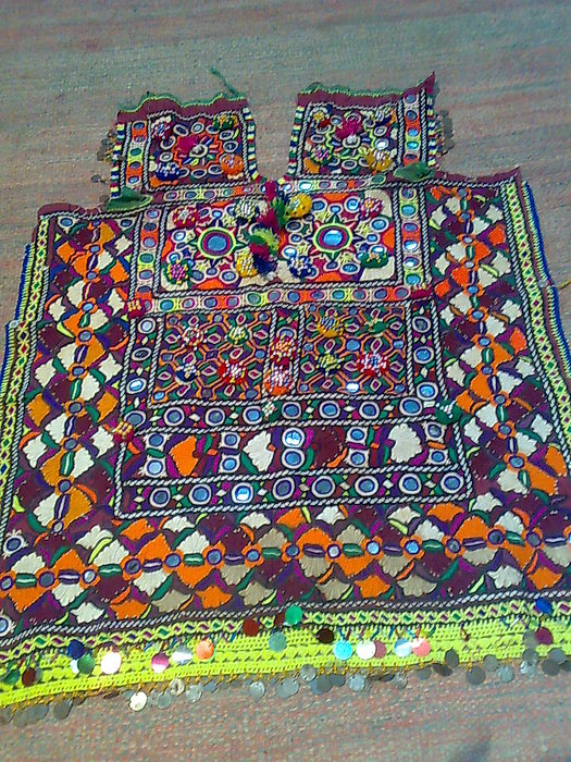 Antique Dresses Tapestry - Textile - Old Dress Piece by Dinesh Rathi