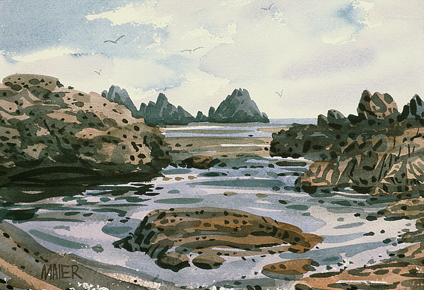 Point Lobos Painting