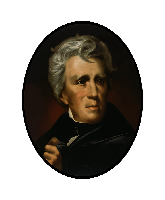 President Andrew Jackson  Painting