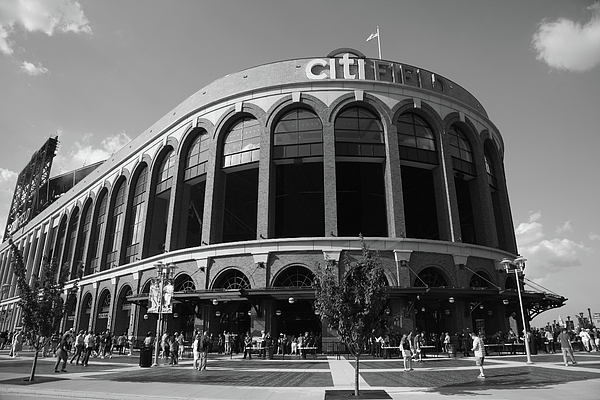 Arch Photograph - Citi Field - New York Mets by Frank Romeo