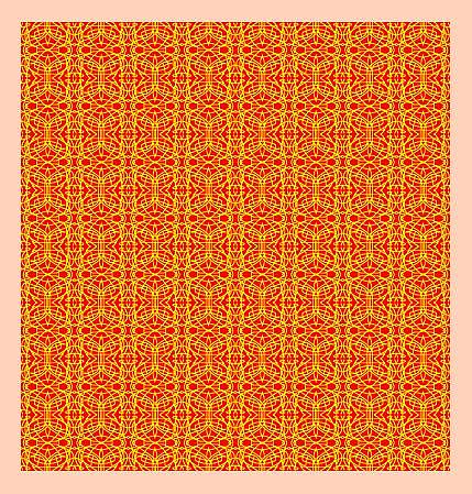 Surface Pattern Design Painting - Original Pattern by Mohammad Safavi naini