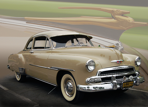 51 Photograph - 51 Chevrolet Deluxe by Bill Dutting