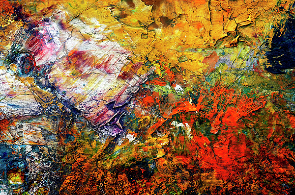 Craftsmanship Painting - Abstract by Michal Boubin