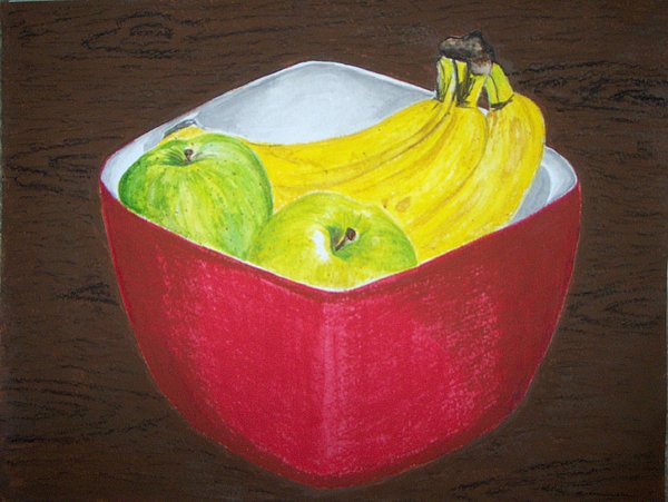 A Fruit A Day Print by Sanchia Fernandes