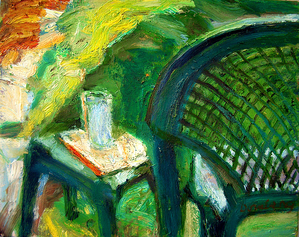 A Place To Write Painting