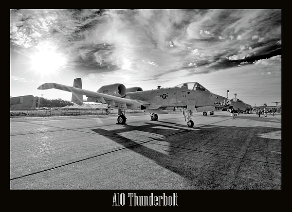 Airshow Photograph - A10 Thunderbolt by Greg Fortier