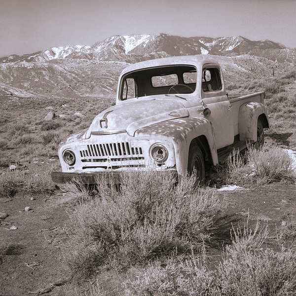 Abandoned Photograph - Abandoned Truck by Janeen Wassink Searles