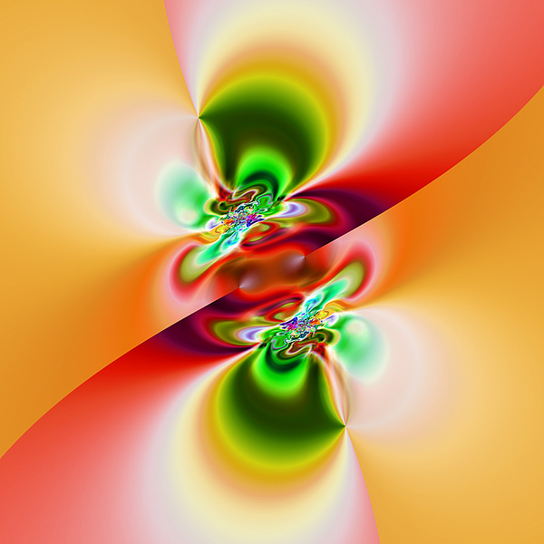 Abstract Digital Art - Abstract 241 by Rolf Bertram