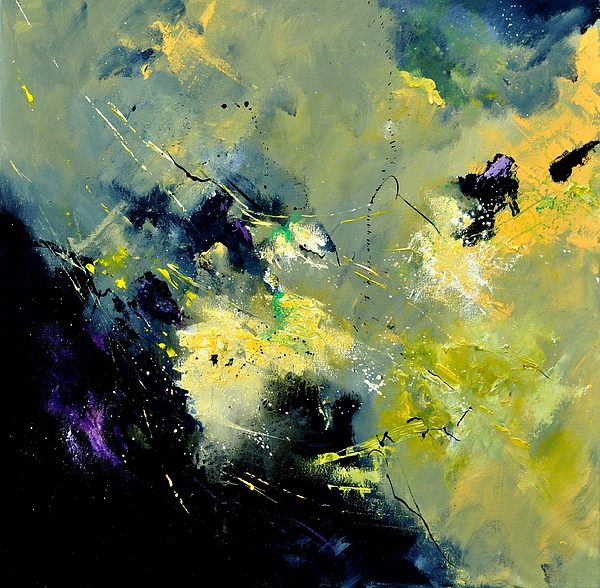 Abstract Painting - Abstract 8821603 by Pol Ledent