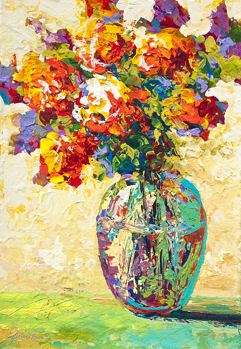 Marion Rose - Abstract Boquet IV