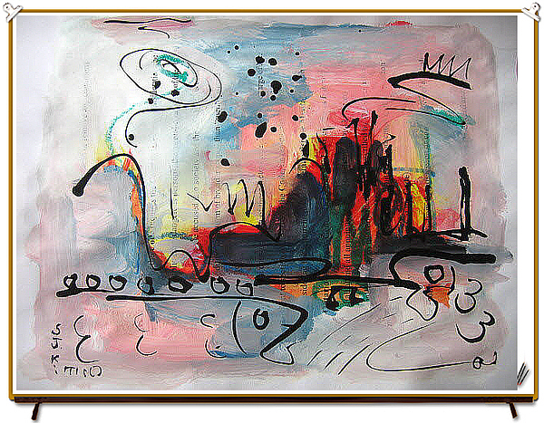 Abstract Sketch199 Painting