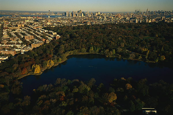 Aerial Of Prospect Park Photograph