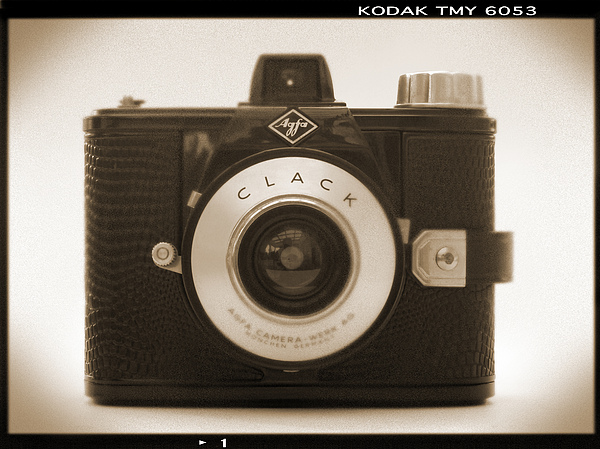 Vintage Agfa Clack Photograph - Agfa Clack Camera by Mike McGlothlen