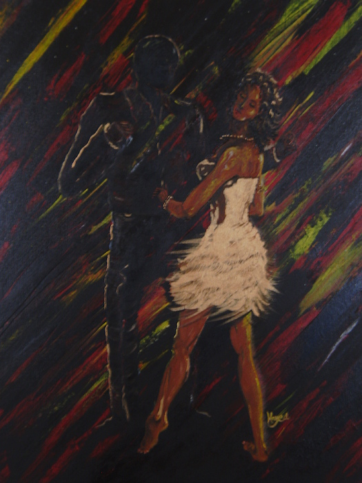 Dance Painting - All About You by Barbara Hayes