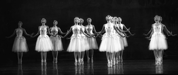 Dance Photograph - All In A Row by Kenneth Mucke