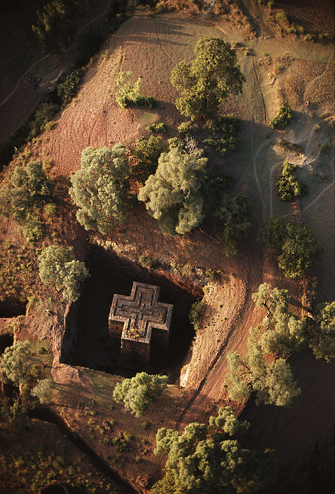 Religion Photograph - An Aerial View Of Beta by James P. Blair