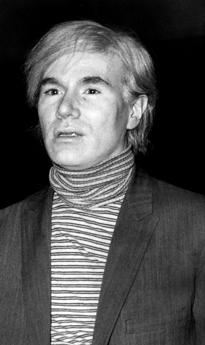 1960s Candids Photograph - Andy Warhol, 1928-1987, American by Everett