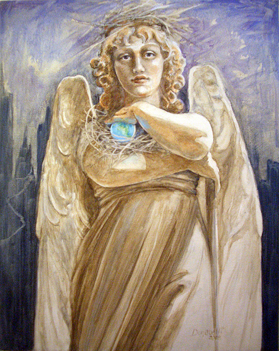 Angel Earth Painting