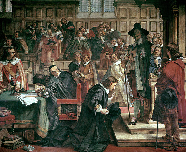 Attempted Arrest Of 5 Members Of The House Of Commons By Charles I Painting