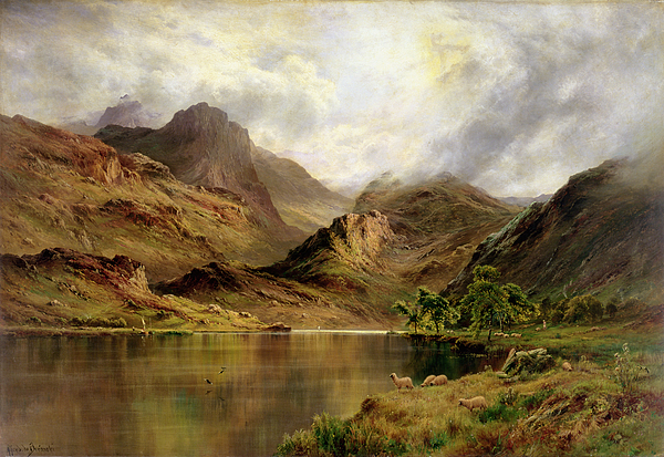 Banks Of Arrochar Painting