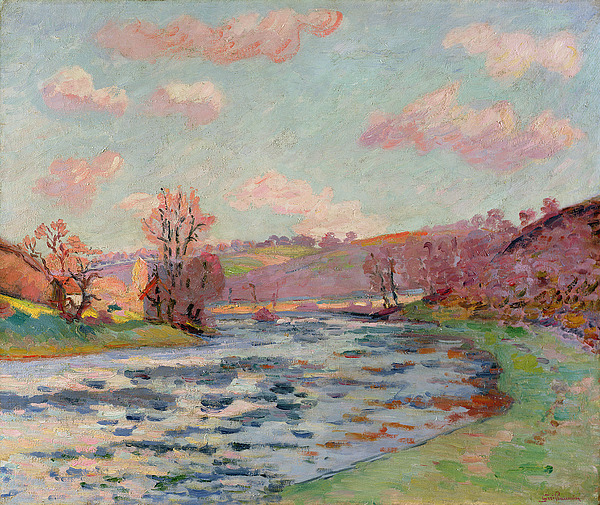Banks Painting - Banks Of The Creuse by Jean Baptiste Armand Guillaumin