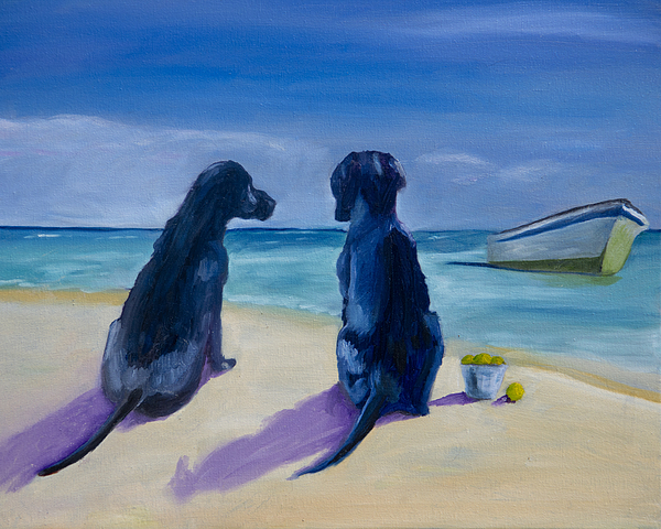 Beach Girls Painting