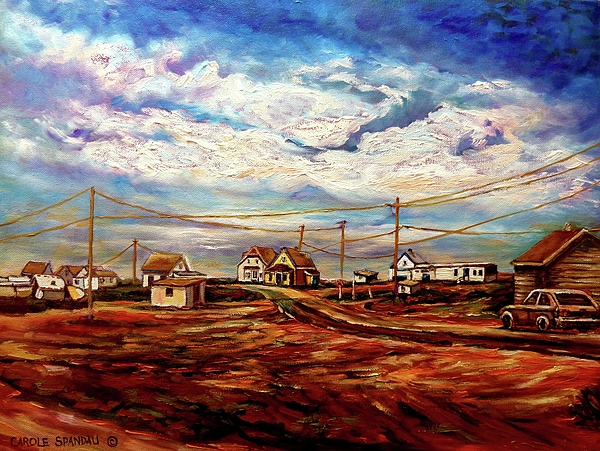 Seascapes Painting - Beautiful Prince Edward Island Maritime Canada by Carole Spandau