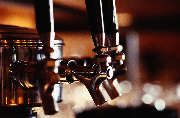 Beer Taps Photograph