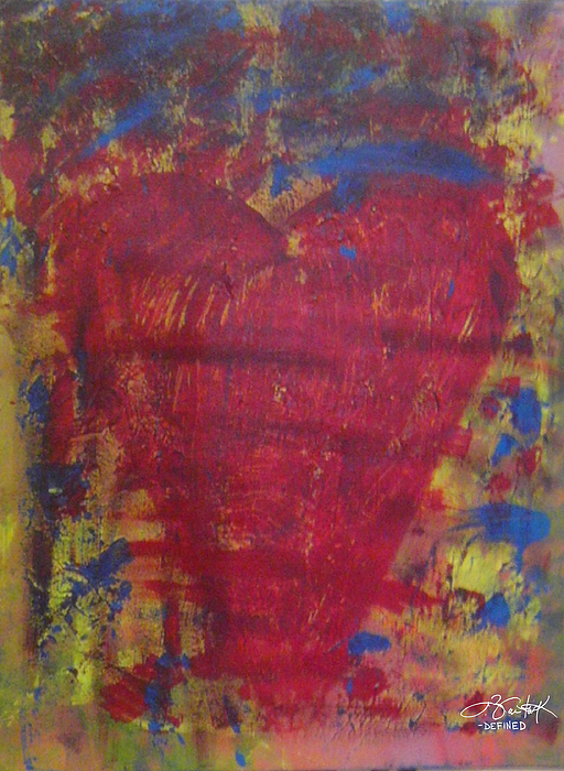 Heart Painting - Beyond The Scars by Chelsea VanHook