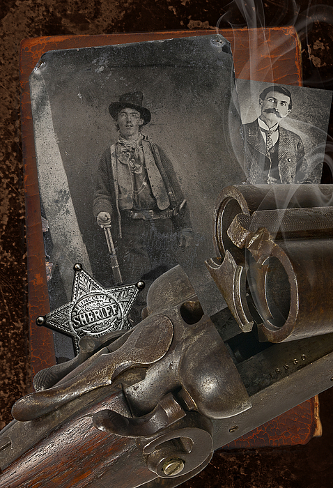 Billy The Kid Photograph - Billy And Pat by Robert Hudnall