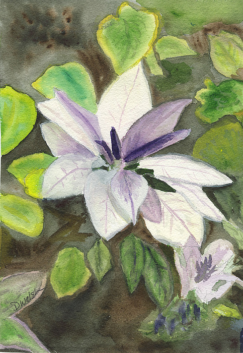 Blossom At Sundy House Painting