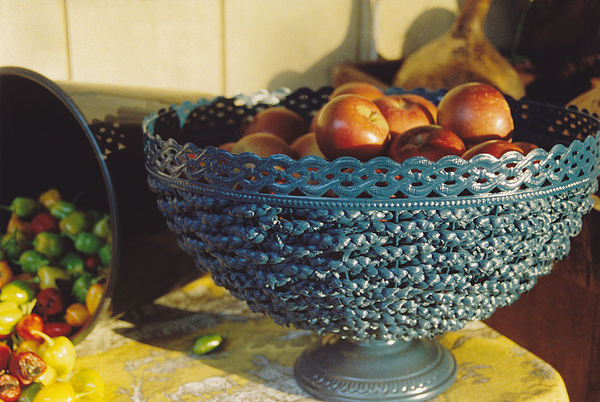 Still Life Photograph - Blue Bowl by Jan Amiss Photography